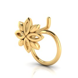 The Gorgeous Gold Nose Pin