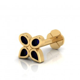 The Audrey Gold Nose Screw