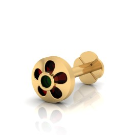 The Daisy Gold Nose Screw