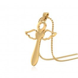 The King Cross Gold Pendant