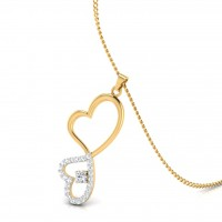 The Espousal Diamond Pendant