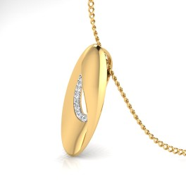 The Knife Diamond Pendant