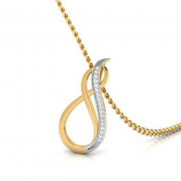 The Infinity Style Diamond Pendant