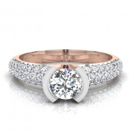 The Powell Solitaire Ring