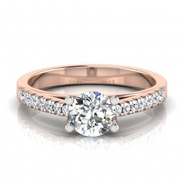 The Amadora Solitaire Ring