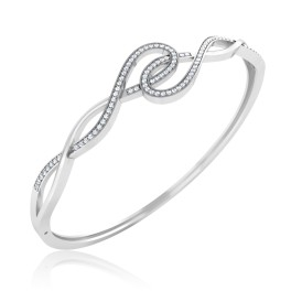 The Elated Silver Bracelet