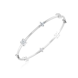 The Paragon Silver Bangle