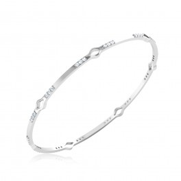 The Diya Diamond Bangle