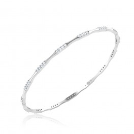 The Acarina Diamond Bangle