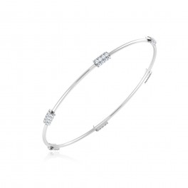 The Jenna Diamond Bangle
