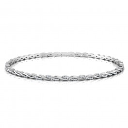 The Riwaz Diamond Bangle