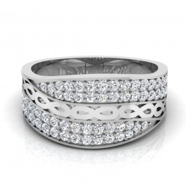 The Swirl Silver Ring