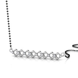 The Opulent Silver Mangalsutra