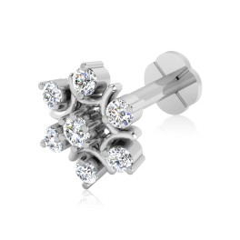The Oleander Silver Nose Screw