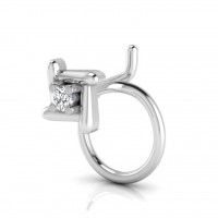 The Beauty Silver Nose Pin