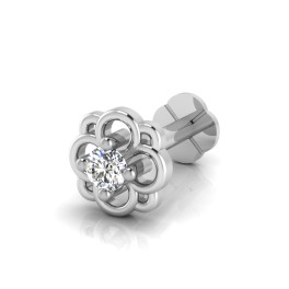 The Darpan Diamond Solitaire Nose Screw