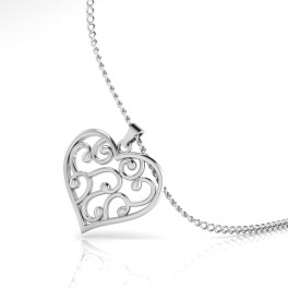 The Rendezvous Silver Pendant