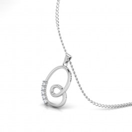 The Wedded Bliss Silver Pendant
