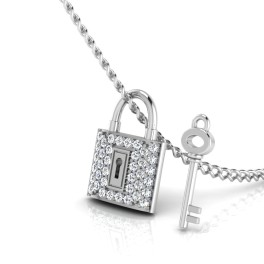 The Naughty Silver Pendant
