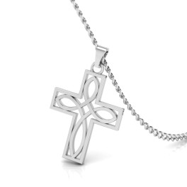 The Holy Cross Gold Pendant