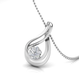 The Cluster Silver Pendant