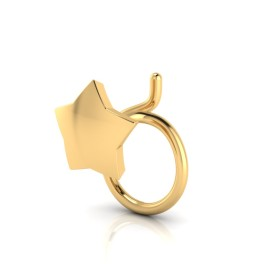 The Lalita Gold Nose Pin