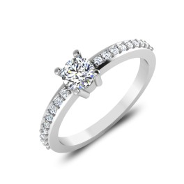 The Vow Solitaire Ring