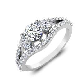 The Committed Solitaire Ring