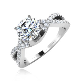 The Juliette Solitaire Ring