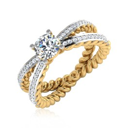 The Madeval Solitaire Ring