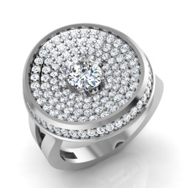 The Candrew Oval Solitaire Ring