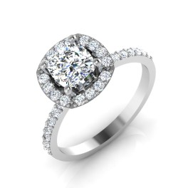 The Slightly Solitaire Ring