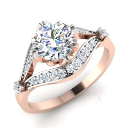 The Paragon Solitaire Ring
