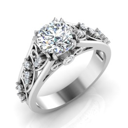 The Astonishing Solitaire Ring