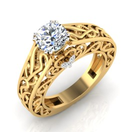 The Frantic Solitaire Ring