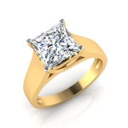 The Slight Solitaire Ring