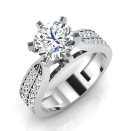 The Mesmeric Solitaire Ring