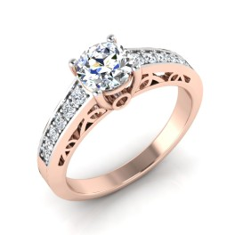 The Demora Solitaire Ring