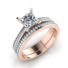 The Decency Princess Solitaire Ring