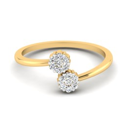 The Floral Diamond Ring