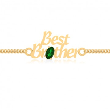 The Aarna Brother Emerald Bracelet