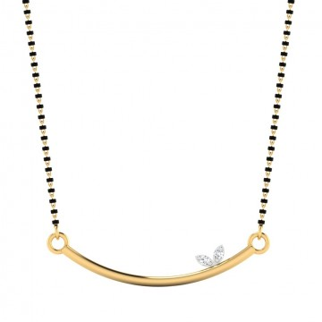 The Alisia Diamond Mangalsutra