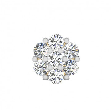 The Daily Cluster Diamond Mens Stud