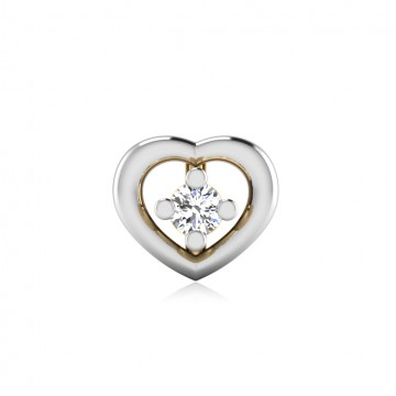 The Adorable Diamond Solitaire Nose Screw