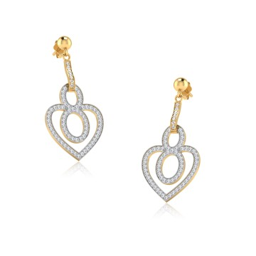 The Exila Diamond Dangle Earrings