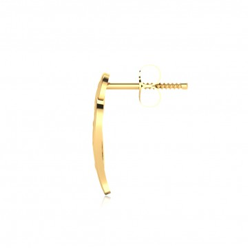 The Blossoming Gold Stud Earrings