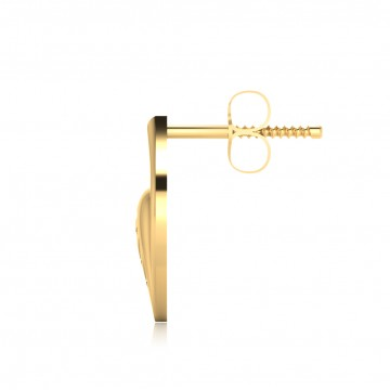 The Cluster Gold Stud Earrings