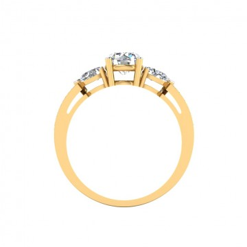 The Alluring Solitaire Ring