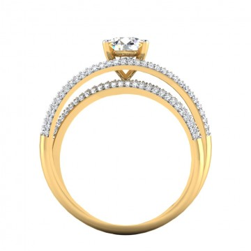 The Amrose Solitaire Ring
