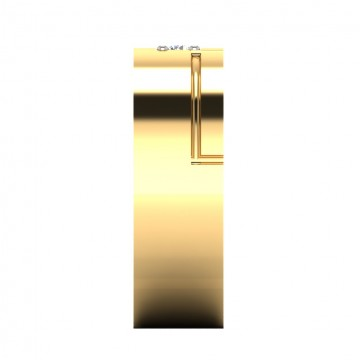 The Laurie Mens Gold Band